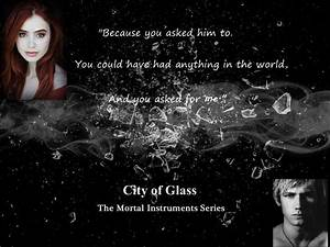 City of Glass Quote by TearyRose on DeviantArt