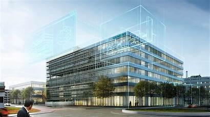 Bim Building Twin Digital Buildings Siemens Modeling