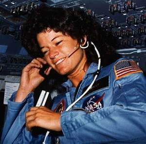 Sally Ride - First Amerian Woman in Space   Nonstop 80s