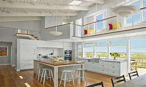 Open Kitchen and Living Room Kitchen Designs with Open