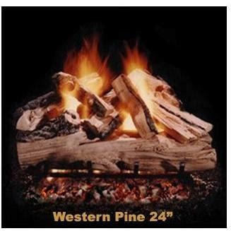 hargrove gas logs pilot light hargrove 24 inch western pine vented propane gas log set