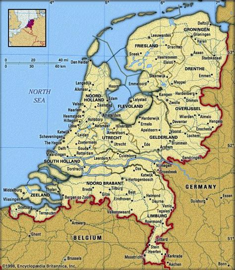 map holland germanyat