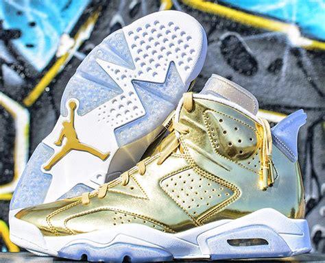 Air Jordan 6 Pinnacle Metallic Gold | SneakerFiles