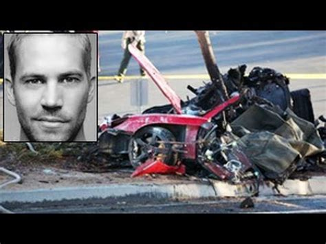 Paul Walker CAR ACCIDENT Actual Video . - YouTube
