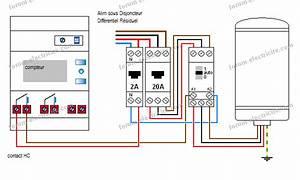 Branchement Contacteur Chauffe Eau : sch ma lectrique branchement horloge programmable pour un chauffe eau triphas forum lectricit ~ Voncanada.com Idées de Décoration