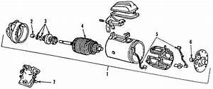 Mercury Tracer Starter Motor