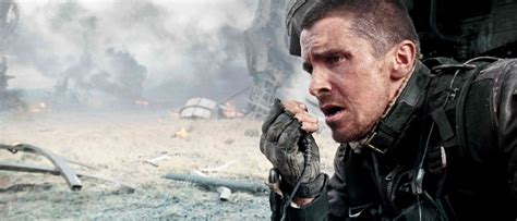 Christian Bale Regrets Terminator Salvation Signed Out