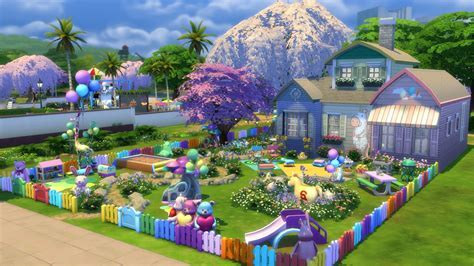 The Sims 4 Toddler Stuff Gallery Spotlight: Parks & Houses