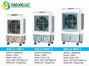 Water Evaporation Air Cooler For Factory Air Cooling
