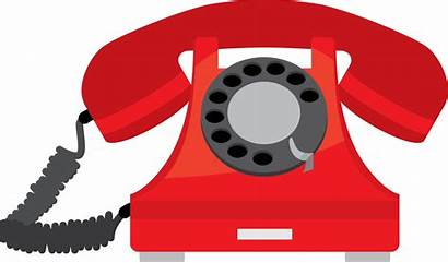 Phone Clipart Telephone Numbers Emergency Cartoon Important