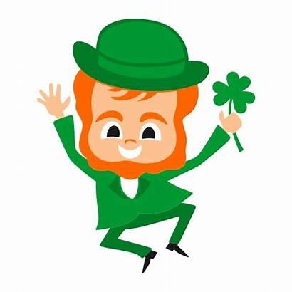 Leprechaun Clipart Ireland March Menu Irlande Monthly