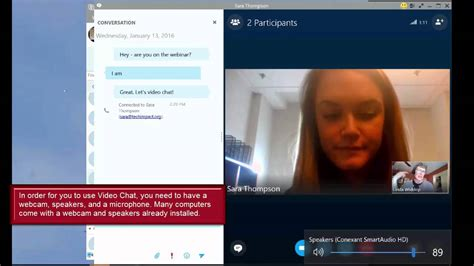How To Use Video Chat In Skype For Business