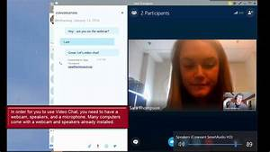 How to Use Video Chat in Skype for Business - Microsoft ...