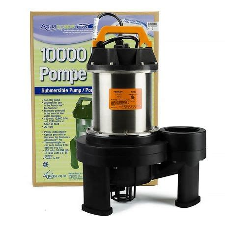 Aquascape Pro by Aquascape Pro 10 000 Gph Reinders