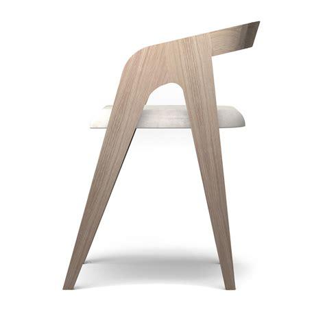 chaise bois scandinave chaise chene blanc design scandinave salomé savelon