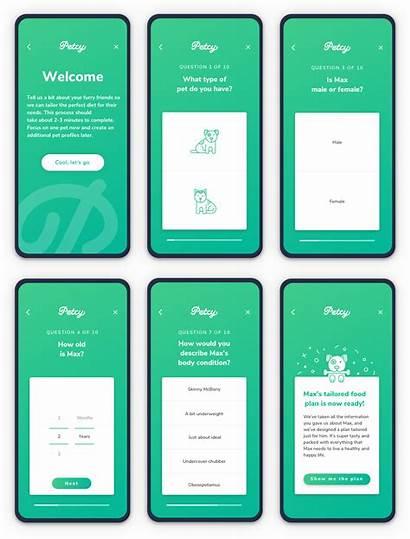 Ui Step Process Ux App Pet Guide