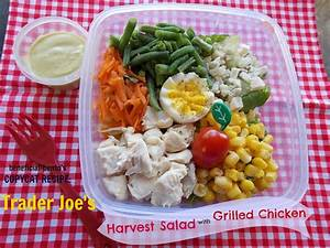 Recipe for Trader Joe's Harvest Salad with Grilled Chicken ...