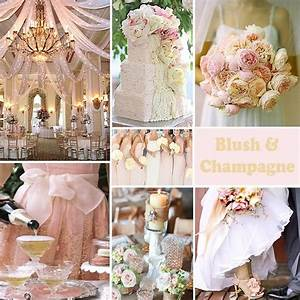 Blush and champagne | Wedding Ideas | Pinterest