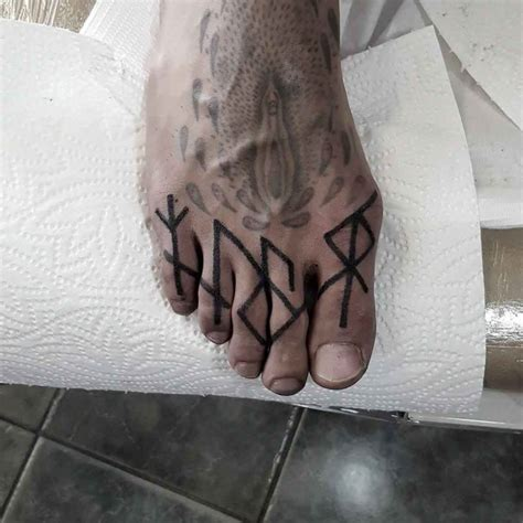 runes tattoos  toes  tattoo ideas gallery