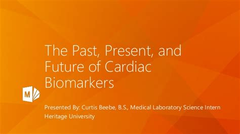The Past, Present, And Future Of Cardiac Biomarkers
