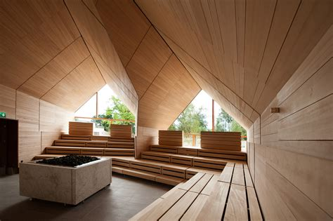 sauna jordanbad jeschke architekturplanung archdaily