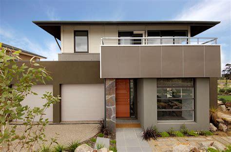 Sleek Grills, Cool Concrete, Small Home Plan