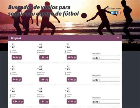 Skyscanner Lanza Un Buscador Especializado En Vuelos Al Fútbol