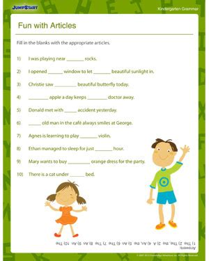 grammar exercises for grade 2 students