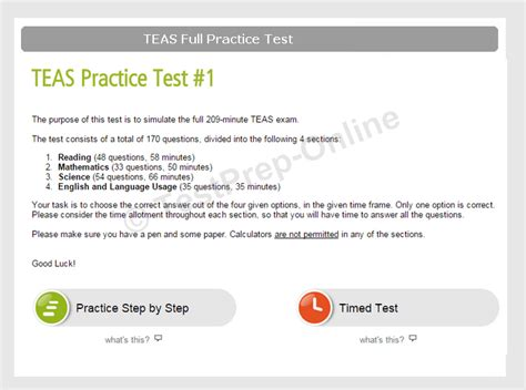 Teas Practice Tests  With Scores And Explanations Testpreponline