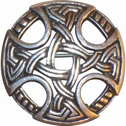 Celtic Knot Scottish Brooch Sterling Scotland Fraser
