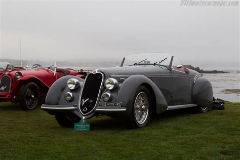 Alfa Romeo 8C 2900B Touring Spider - Entrant: William E ...