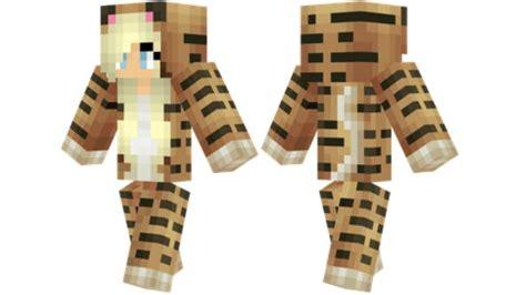 Tiger Onesie Minecraft Skin