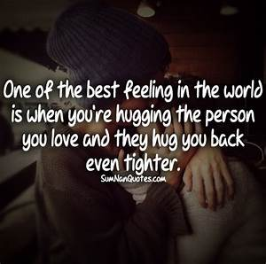 couple hugging tightly quotes for feelings cute love quote ...