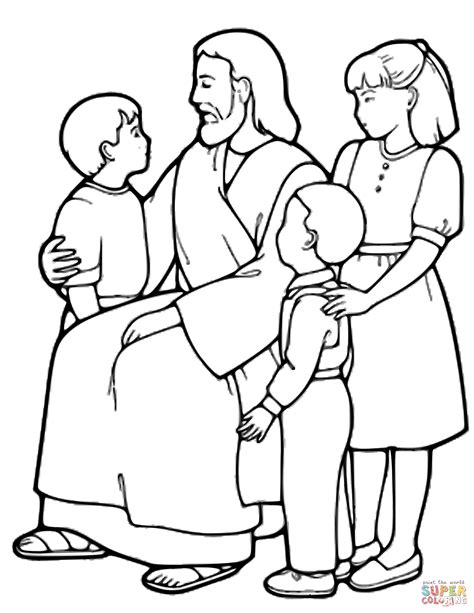 jesus coloring pages  kids printable thousand