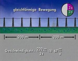 Wegstrecke Berechnen : gleichf rmige lineare bewegung ~ Themetempest.com Abrechnung