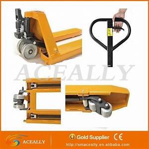 Hydraulic Pump Manual Hand Pallet Jack Truck Scales