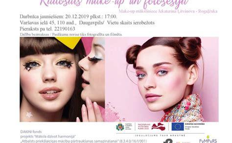 Radošais make-up un fotosesija
