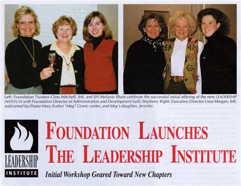 nancy walton laurie leadership institute  chi omega