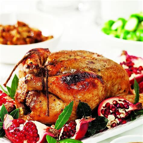 roast chicken  pomegranate glaze recipe eatingwell