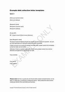 sample debt collection letter format my blog With sample letter to debt collection agency