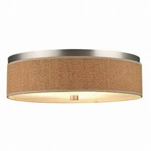 Ceiling lights design semi drum flush mount light