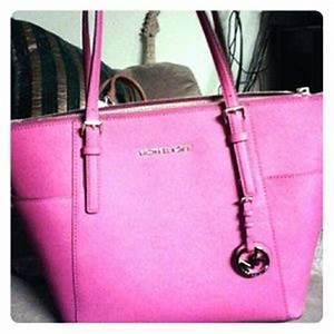 michael kors neon pink handbag on Poshmark