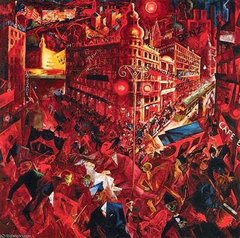 metropolis by George Grosz (1893-1959, Germany ...
