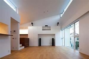 Architecture à Vivre : maison design japonaise piece a vivre arkko ~ Melissatoandfro.com Idées de Décoration