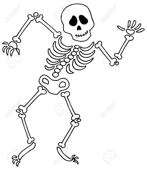 skeleton template skeleton cliparts