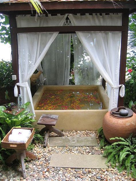 outdoor spa ideas 31 soothing outdoor spa ideas for your home digsdigs