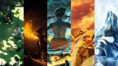 Airbender Avatar Last Collage Wallpapers Wallpaperup