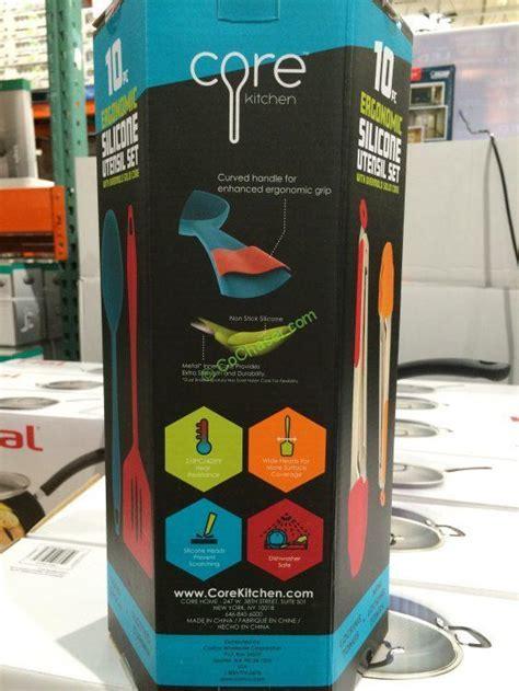 Core Kitchen 10PC Ergonomic Silicone Tool Set ? CostcoChaser