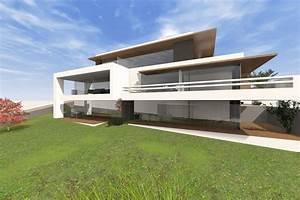 Mehrfamilienhaus Grundriss Modern : modernes mehrfamilienhaus bauen 3 6 parteien mit penthousewohnung ~ Eleganceandgraceweddings.com Haus und Dekorationen