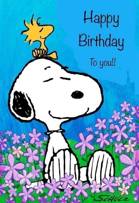 snoopy happy birthday snoopy geburtstag geburtstag